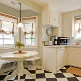 шторы для кухни в стиле прованс обзор