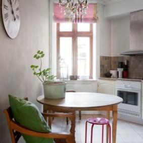шторы для кухни в стиле прованс виды декора