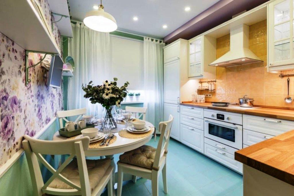 шторы для кухни в стиле прованс фото