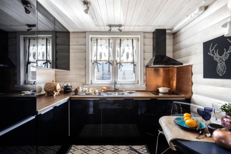 шторы для кухни в стиле прованс оформление