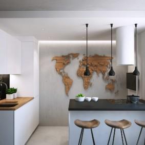 кухня в панельном доме виды дизайна