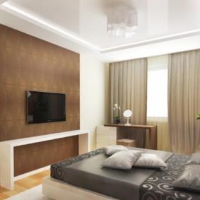 спальня 13 кв метров дизайн