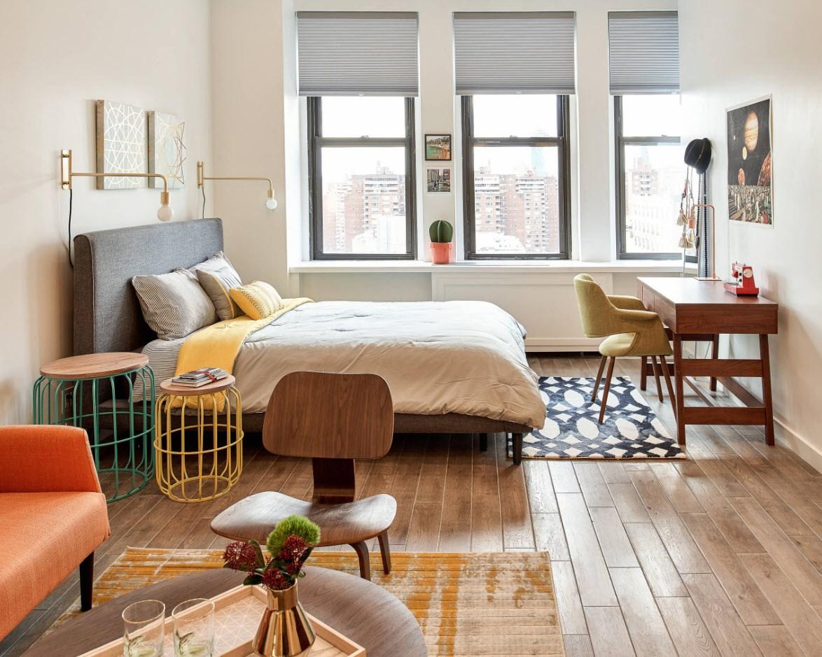 спальня 13 кв метров дизайн фото