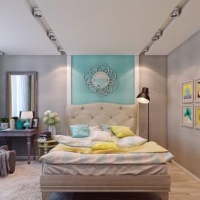 спальня 13 кв метров фото