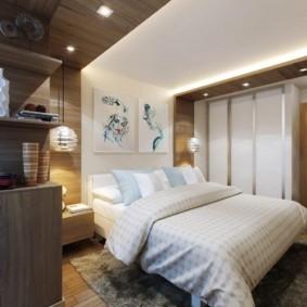 спальня 13 кв метров фото оформление