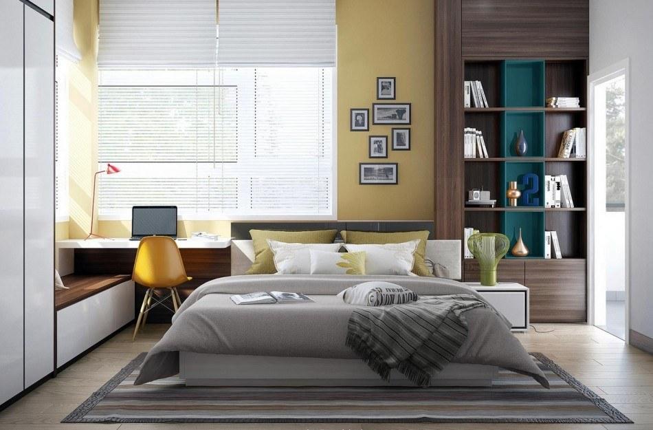 спальня 13 кв метров фото оформления