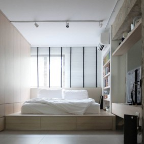 спальня 13 кв метров оформление фото