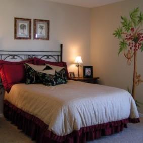 спальня 13 кв метров варианты