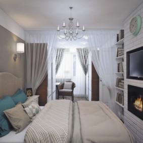 спальня 13 кв метров виды
