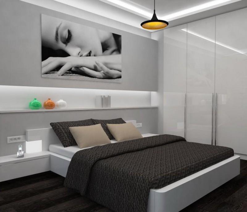 спальня 13 кв метров виды фото