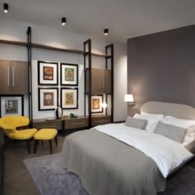 спальня 13 кв метров декор фото