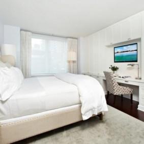 спальня 13 кв метров идеи декор