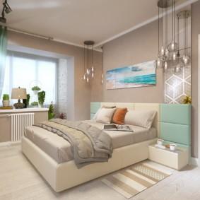 спальня 15 кв метров фото дизайна