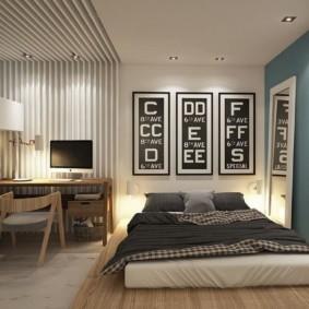 спальня 15 кв метров идеи дизайн