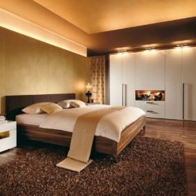спальня 15 кв метров варианты фото
