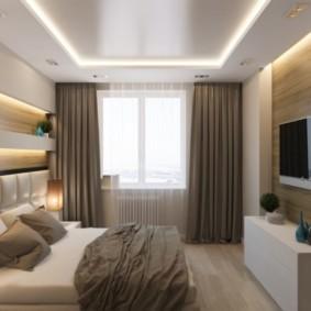 спальня 15 кв метров фото оформления