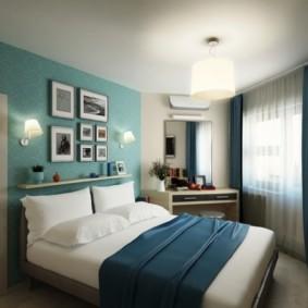 спальня 15 кв метров варианты интерьера