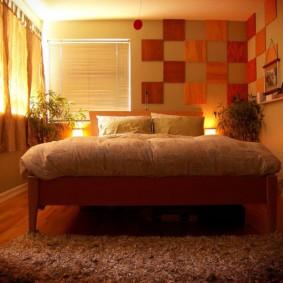 спальня 16 кв метров дизайн интерьер