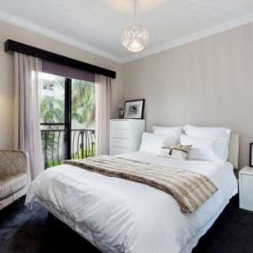 спальня 16 кв метров фото декор