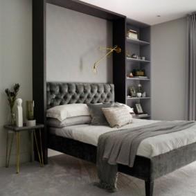 спальня 16 кв метров фото дизайна