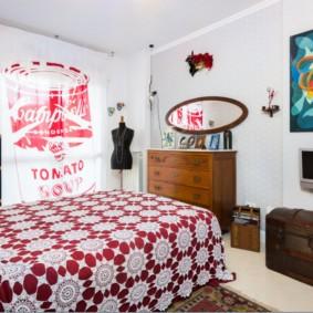 спальня 16 кв метров интерьер идеи