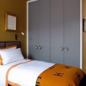 спальня 16 кв метров небольшая кровать