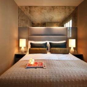 спальня 16 кв метров узкая