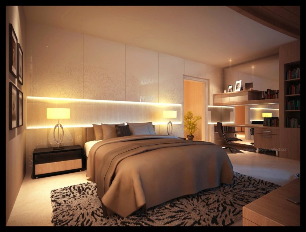 спальня 16 кв метров освещение