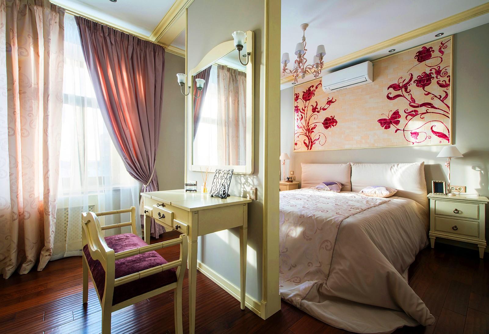 спальня 16 кв метров с мебелью