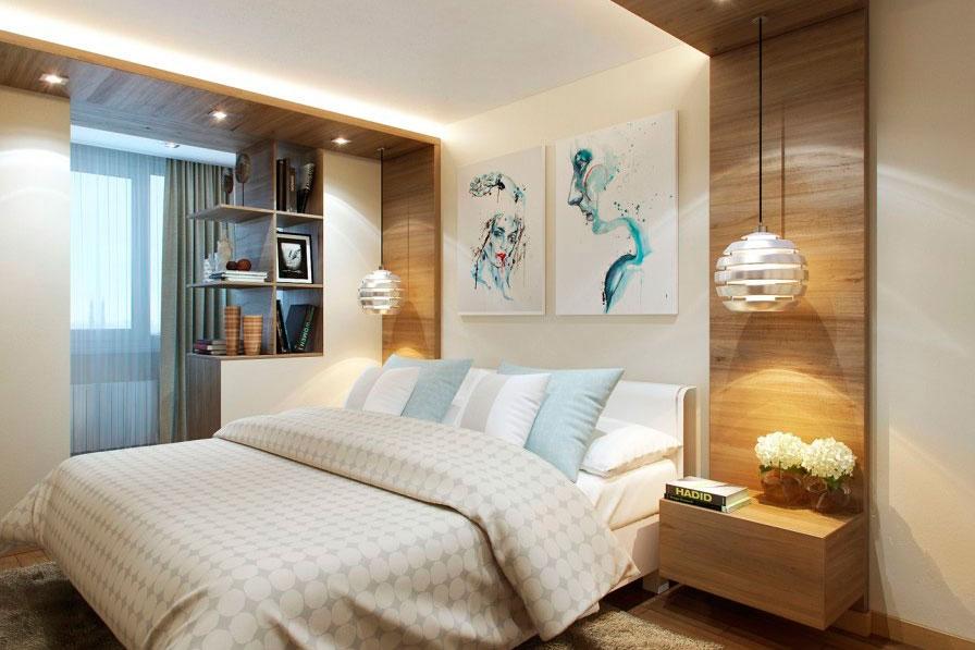 спальня 16 кв метров современное искусство