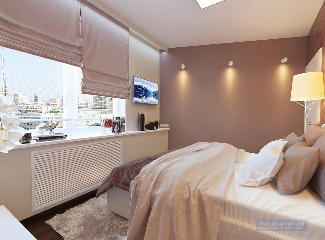 спальня 14 кв метров декор фото