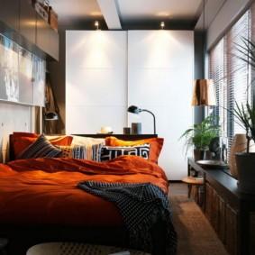 спальня 14 кв метров декор идеи
