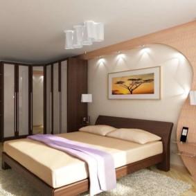 спальня 14 кв метров дизайн фото