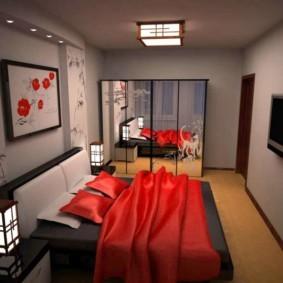 спальня 14 кв метров фото дизайн