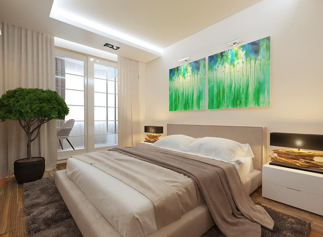 спальня 14 кв метров фото интерьер