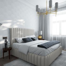 спальня площадью 5 на 5 метров виды оформления