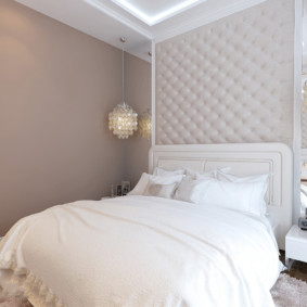 спальня площадью 5 на 5 метров дизайн фото