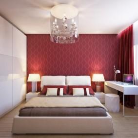 спальня площадью 5 на 5 метров фото дизайн
