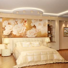 спальня площадью 5 на 5 метров