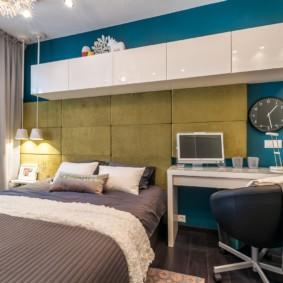 спальня площадью 5 на 5 метров идеи декор