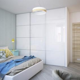 спальня площадью 5 на 5 метров идеи декора