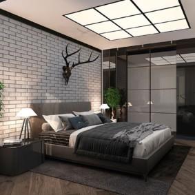 спальня площадью 5 на 5 метров интерьер фото