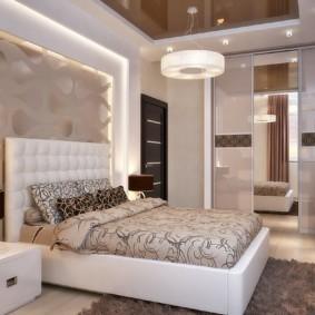 спальня площадью 5 на 5 метров оформление фото