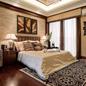 спальня площадью 5 на 5 метров фото оформление