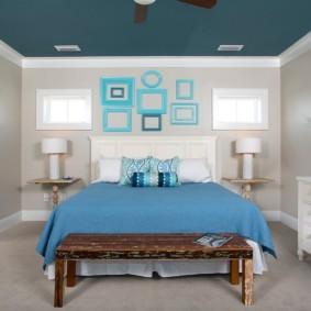 спальня площадью 5 на 5 метров фото оформления