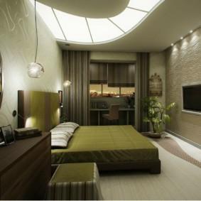 спальня площадью 5 на 5 метров оформление идеи