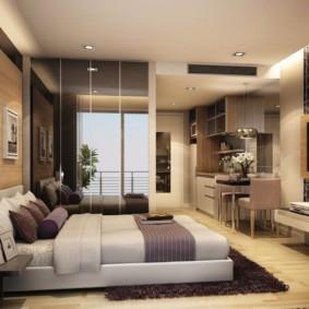 спальня площадью 5 на 5 метров идеи варианты
