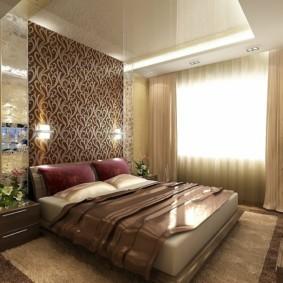 спальня площадью 5 на 5 метров виды