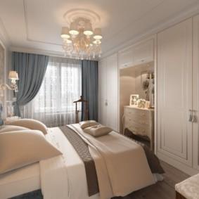 спальня площадью 5 на 5 метров виды фото