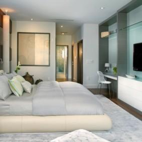 спальня площадью 5 на 5 метров идеи виды